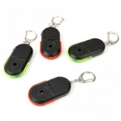 1 db Elveszés gátló vészjelzéses kulcskereső helymeghatározó kulcstartó eszköz sípoló hangos LED fény