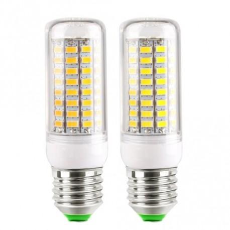 E27 10W 89LED 5730 SMD izzó égő lámpa világítás 110V / 220V