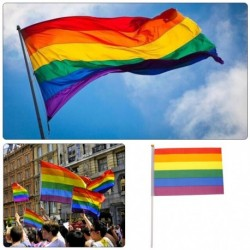 12db szivárvány színű Leszbikus homoszexuális LMBT homoszexualitás banner zászló