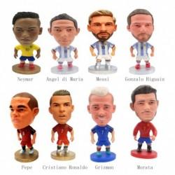 1x 2018-os világbajnokság-futballcsillagos játékok Ábra Modell Labdarúgó-baba