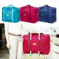 1x Nagy összecsukható utazási tároló poggyász hordozható szervező kéz váll duffle táska