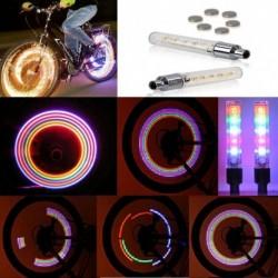 2db Kerékpár világítós 5  LEDes szelepsapka