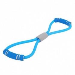 1x Edzőterem mellkas erősítő fejlesztő gumi latex nyújtó jóga edzés fitnesz rugalmas