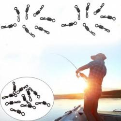 10db Q-alakú hordó forgatható horgász végberendezés tartozék kiegészítő