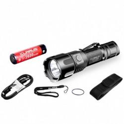 1x Klarus XT11UV USB zseblámpa Fehér UV fény CREE XP-L HI V3 LED 900LM lámpa 18650 akkumulátorral