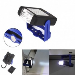 1x LED zseblámpa Mágneses fény Work Light 360 fokos állvány lógó fáklya