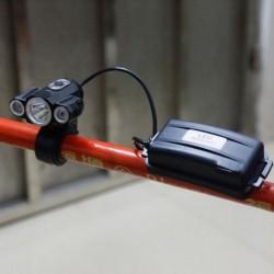 1x 30000Lumen CREE 3 x T6 LED fényszóró 18650 fényszóró fejlámpa lámpa kerékpáros lámpa