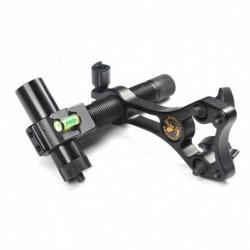 1x Összetett íj látás lézeres alignerrel a vadászathoz 360 fokos forgó fej hibakeresési eszköz