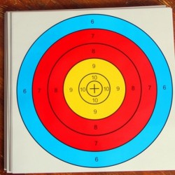 10db papír céltábla darts 40 * 40cm