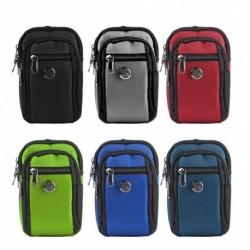 1x Vízálló futószalag derék tasak csomag sport túrázás hegymászó telefon tartó