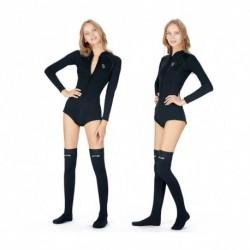 1x Női 2 mm neoprén meleg vizi sport búvár úszás zokni