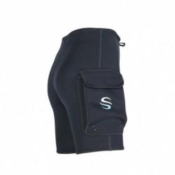 1x 3 mm evezős rövidnadrág búvárkodás szörfözés nadrág