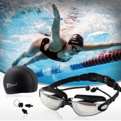 1 szett úszószett füldugó úszósapka orrcsipesz strand úszás