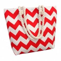 1db nűi csíkos mintás szatyor táska kézitáska