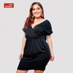 1x egyszerű női nyári alkalmi lenge ruha
