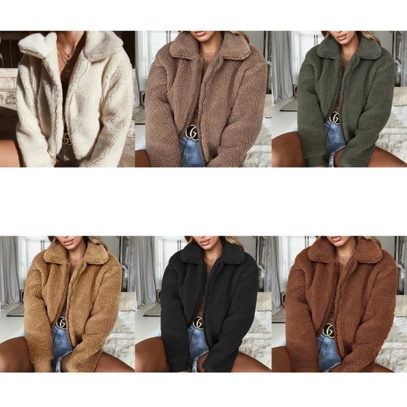 ded636e65b 1x meleg női őszi téli kabát felső dzseki