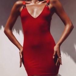 1x női kényelmes nyári ujjatlan ruha