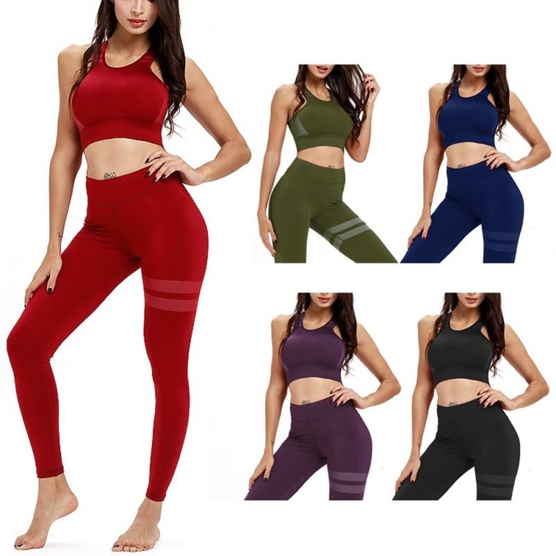 88b3d56870 1szett női edző yoga jóga sport ruha
