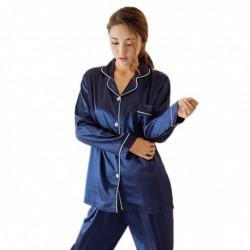 1 szett női cuki egy színű alvó ruha pizsama hálóruha
