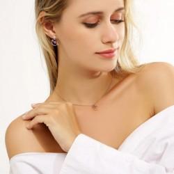 1 pár női egyedi természetes divatos bizsu fülbevaló fül ékszer test ékszer