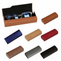 1db műbőr szemóveg napszemüveg tartó tároló