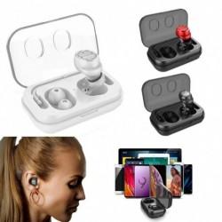 1x Vezeték nélküli Earbuds vízálló Mini Bluetooth fülhallgató sport fejhallgató