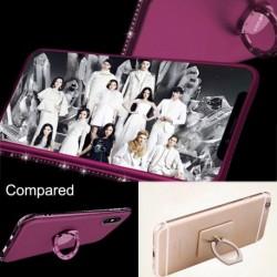 1x telefon tok tartó állvány gyűrű fedél iPhone XS Max XR 8 7