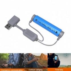 1x Mágneses USB akkumulátor töltő Li-ion akkumulátorhoz Hordozható univerzális töltő