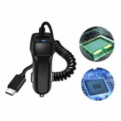 1x USB autós töltő iPhone X 8 7 6s 6 plus 10 telefonos autós töltő Micro USB C-típusú IOS kábel Samsung S9 Plus
