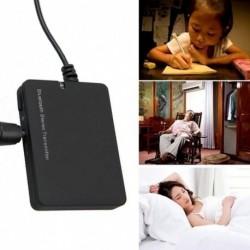 1x Bluetooth A2DP sztereó audioadapter Dongle küldő jeladó TV 3,5 mm-es hangszóróhoz