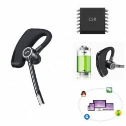 1x Zajcsökkentő vezeték nélküli Bluetooth V4.0 fülhallgató sztereó kettős mikrofonnal