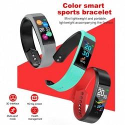 1x Intelligens karkötő Fitness Tracker szívritmus alvás monitor Bluetooth vízálló Android iOS