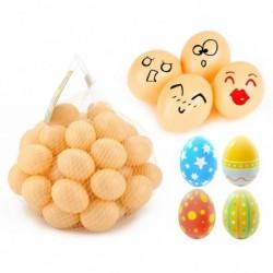 12db húsvéti tojás műanyag tojás babakonyha járék dísz festhető