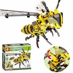 236db darázs építő eleme DIY kreatív rovar modell építő játék