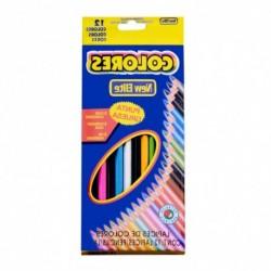 12 színű színes ceruza rajzolás színezés kreatív tevékenység