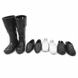 4pár férfi cipő alkalmi cipő ruha party kiegészítők 32cm babához