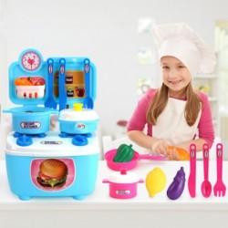 1x Műanyag konyhai eszközök játék szett Gyerekeknek