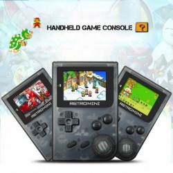 1x Retro mini kézi játékkonzol hordozható mini GBA játék gyerekeknek