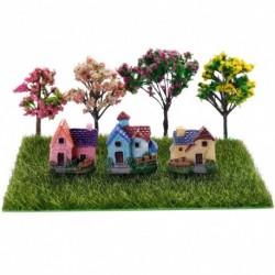 1x DIY miniatűr kert mikro táj dísz dekoráció dollhouse babaház kézműves kiegészítők fa