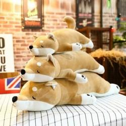 1db 55cm aranyos akita kutya plüss játék töltött játék gyerekeknek