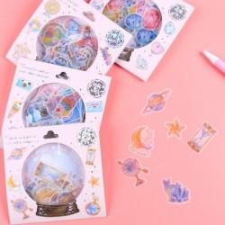 1x Crystal Ball Candy matricák Scrapbooking napló levélpapír album DIY dekoráció