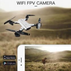 1x Globális Quadcopter RC Drón SG700 HD kamera Wifi FPV optikai követése (200 W kamera széles szög)