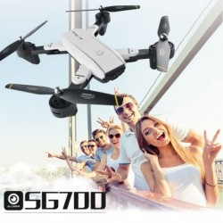 1x Globális Quadcopter RC Drón SG700 HD kamera Wifi FPV optikai követés (200W kamera)