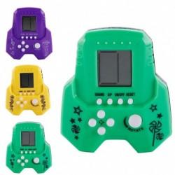 1x Klasszikus Tetris játék Vintage tégla kézi puzzle játék
