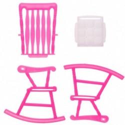 1db Barbie baba babaház bútor hintaszék játék szoba kiegészítők
