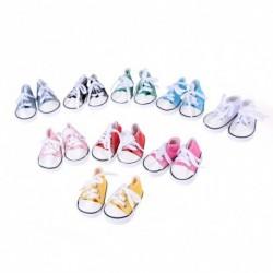 1Pár Aranyos játék baba cipő  7cm*3cm