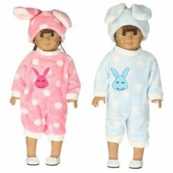 """1x Aranyos mintás baba ruha 18"""" méretű babáhou"""