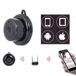 1080P mini vezeték nélküli WIFI IP kamera HD intelligens otthoni biztonsági éjjellátó
