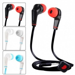 1x JD88A sztereó basszus fülhallgató fejhallgató W / mic iPhone Xiaomi Samsung Mp4