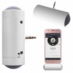 1x Hordozható 3,5 mm mini sztereó hangszóró erősítő MP3 / MP4 / mobiltelefon / Tablet számára